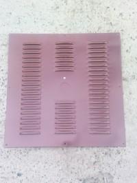 Наружные (фасадные) вентиляционные решетки.