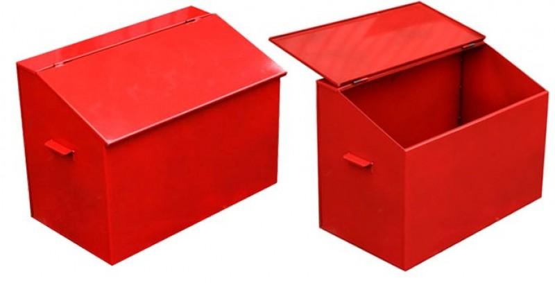 Ящик пожарный для песка